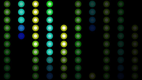 Color Circles Background #7 stock footage