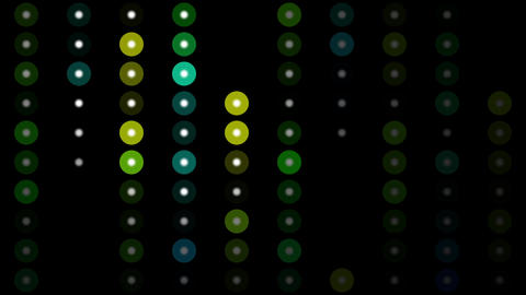 Color Circles Background #9 stock footage