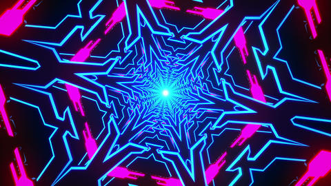 VJ Loop Tunnel 1 Animation