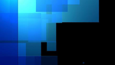 blue glossy blocks Animation