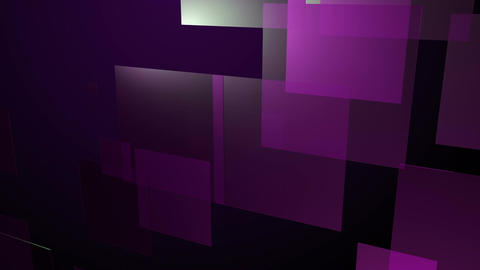moving purple square Animation