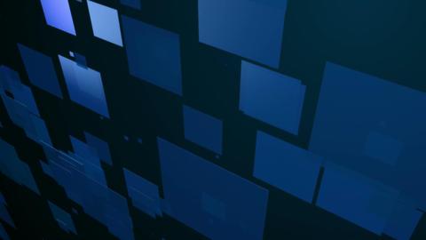 blue square dance Animation