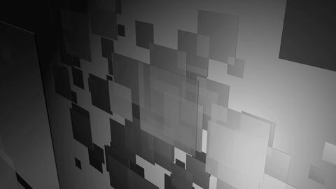 Black White Tiles stock footage