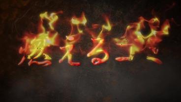 燃えるゴミ After Effects Template