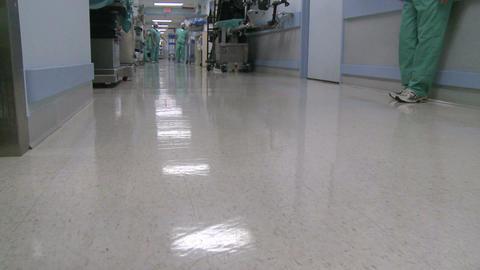 Medical staff in hospital hallway (5 of 5) Footage