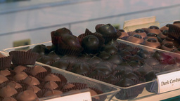 Chocolates in a Store Footage