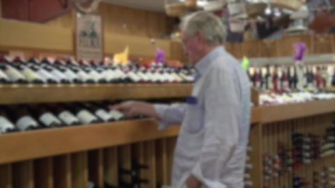 Wine selection (1 of 3) Footage