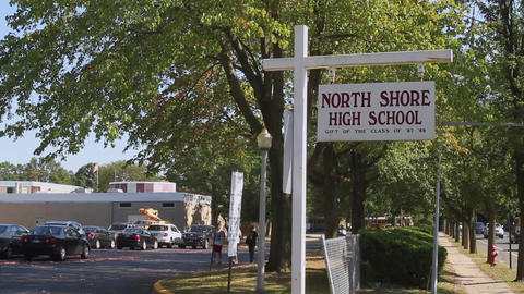North Shore High School sign (3 of 3) Footage