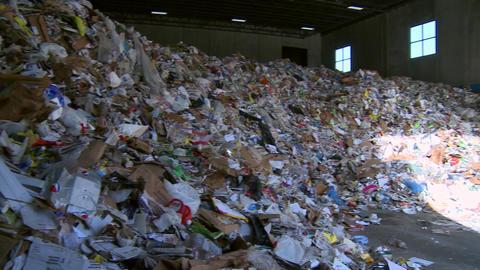 Piles of trash waste (1 of 2) Footage