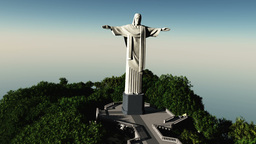 Corcovado 01 Stock Video Footage
