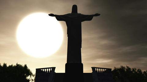 Corcovado 03 Stock Video Footage