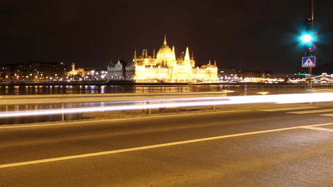 European City Timelapse 84 Stock Video Footage