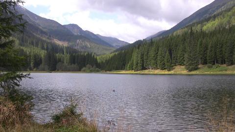 Alpine lake Stock Video Footage