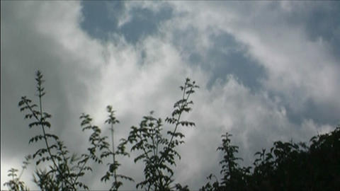 Clouds time lapse Stock Video Footage