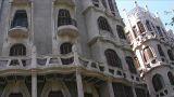 Palma de Masllorca - Gaudi architecture Footage
