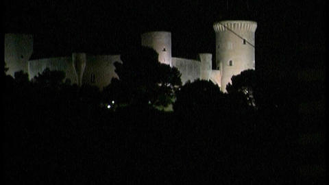 Palma de Majorca - by night Stock Video Footage