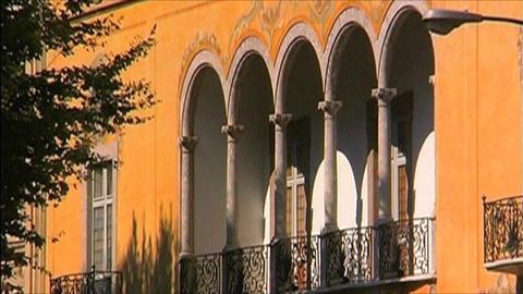 Palma de Mallorca architecture Stock Video Footage