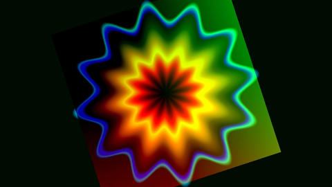 Rotating pattern Stock Video Footage