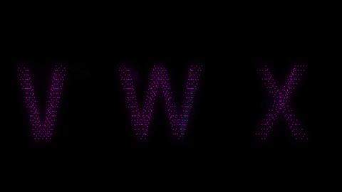vwx Stock Video Footage