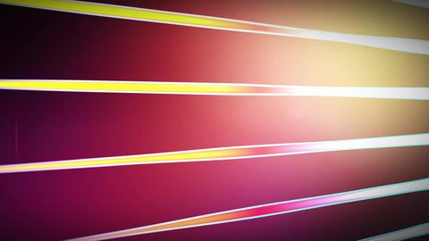 Animated Lines and Light Flare Stock Video Footage
