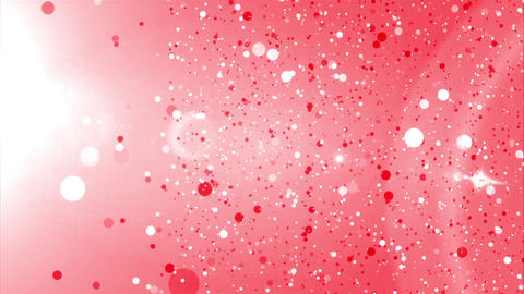 Red Cola Bubbles CG動画素材