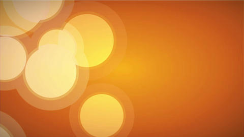 Bokeh in Orange Stock Video Footage