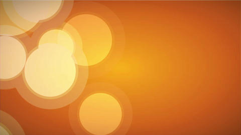 Bokeh in Orange Stock Video Footage