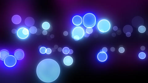 Neon Light in Dot A HD Stock Video Footage