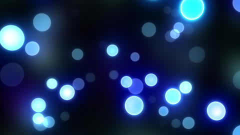 Neon Light in Dot At HD Stock Video Footage
