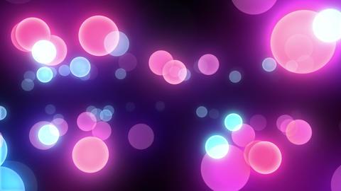 Neon Light in Dot C HD Stock Video Footage