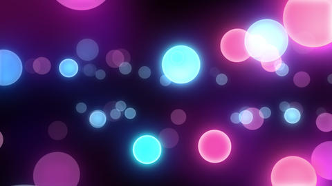 Neon Light in Dot C HD Stock Video Footage