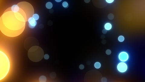 Neon Light in Dot Ct HD Stock Video Footage