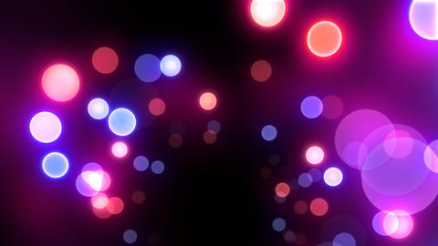 Neon Light in Dot Ft HD Stock Video Footage