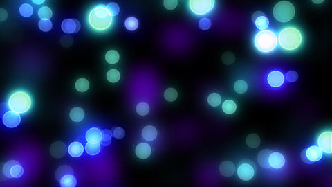 Neon Light Pan Dot C HD Stock Video Footage