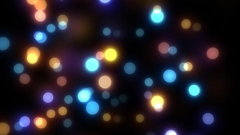 Neon Light Wave Dot A2 HD Stock Video Footage
