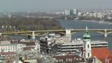 European City Rooftops View 08 Footage
