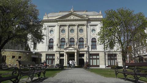 European City Rustic Building 01 Footage
