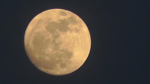 Full Moon Timelapse 03 Stock Video Footage
