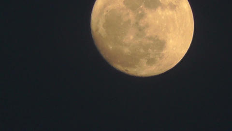 Full Moon Timelapse 03 Footage