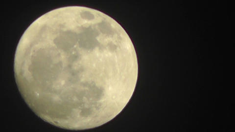 Full Moon Timelapse 05 Stock Video Footage