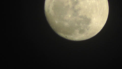 Full Moon Timelapse 05 Footage