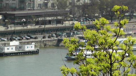 Springtime Budapest Hungary Stock Video Footage