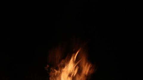 Fire Detail Clip 05 Stock Video Footage