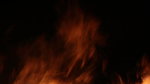 Fire Detail Clip 14 Stock Video Footage