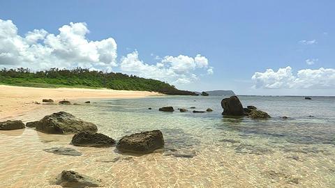 Summer landscape in Iriomote island,Okinawa,Japan_2 Stock Video Footage