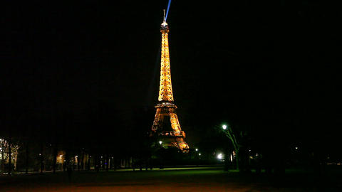 Eiffel Tower Stock Video Footage