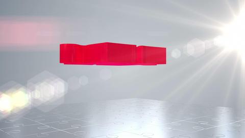 Customer jigsaw falling into place Animation