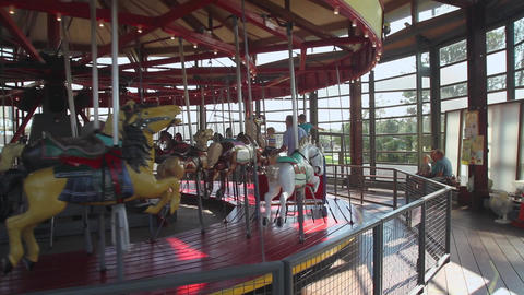 Greenport Carousel Footage