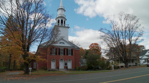 Sharon Congregational Church Footage