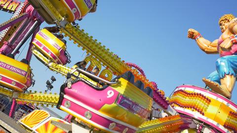 Amusement Park Machine Footage